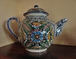 Talavera teapot