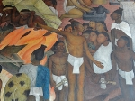 Diego Rivera mural - National Palace DF