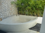 Mérida tub on the home tour