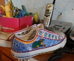 alebrije sneakers hand painted