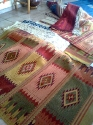 Some of the rugs we looked at. Oaxaca