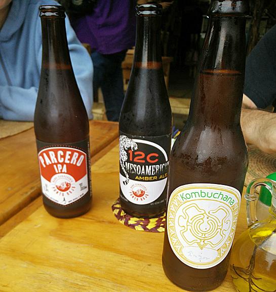 Local brews and kombucha